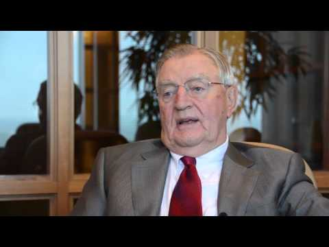 Interview with Walter Mondale and the UMN Foundation
