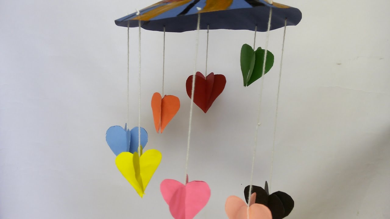 how to make a 3d heart out of paper