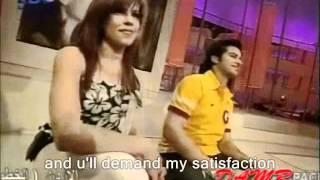 Haifa Wehbe Fakerni English Subtitles Live Star Academy   فاكرني