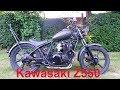 1983 Kawasaki Z550 Bobber