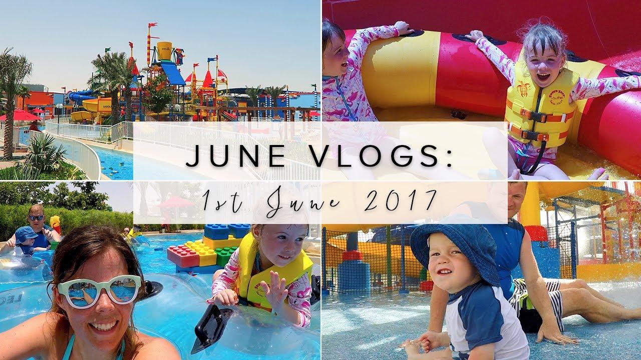 LEGOLAND WATER PARK DUBAI- JUNE DAY 1 - YouTube