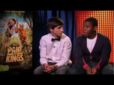 Pair of Kings - Mitchel Musso & Doc Shaw (Interview)