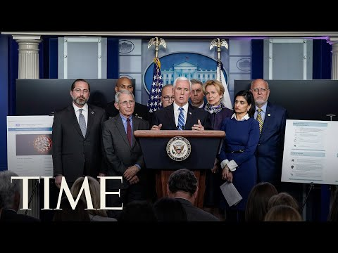 President Trump & Coronavirus Task Force Deliver Briefing on COVID-19 | TIME