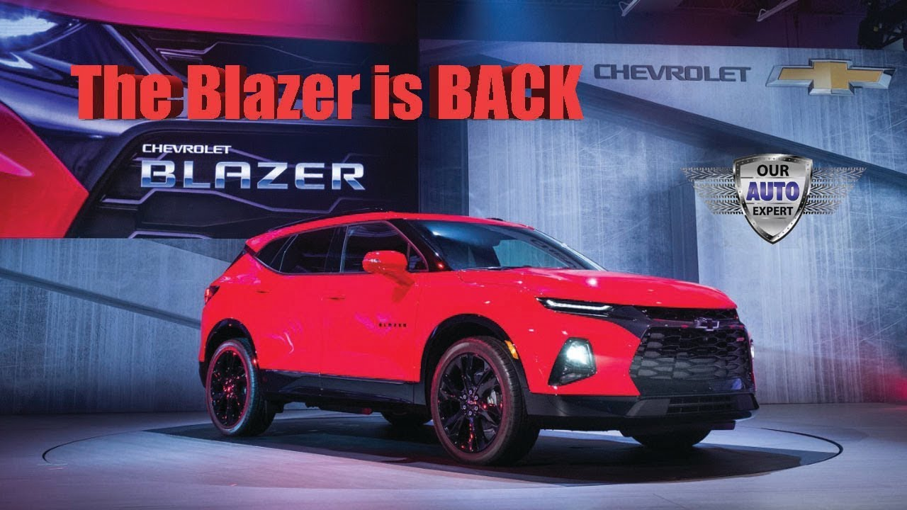 2020 Chevy Blazer - YouTube