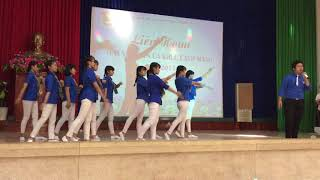[Giải nhì ]Song ca: Dấu chân tình nguyện - Đoàn trường THPT Đồng Xoài