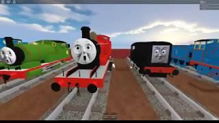 Thomas and Friends - Diesel Roblox train crashes