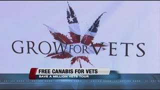 Colo. group giving medical marijuana to veterans stopping in Las Vegas