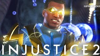 Black Lighting Does Damage! Super Finish - Injustice 2