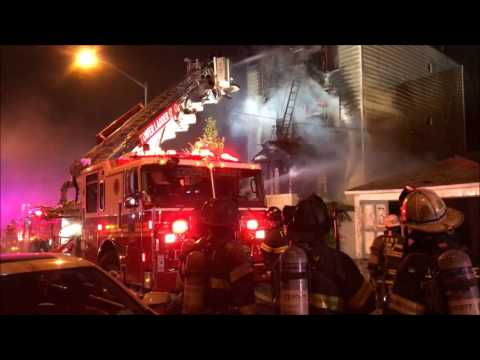FDNY BATTLING 2ND ALARM FIRE IN VACANT PRIVATE DWELLING ON WALES AVENUE IN MOTT HAVEN, THE BRONX.