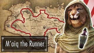 M'aiq Decides to Run a Marathon Around Skyrim