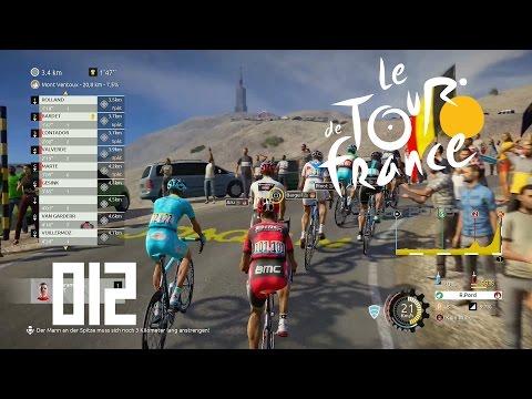 Tour de France 2016 [PS4] #012 - 12. Etappe Es geht zum Mont Ventoux [HD+] - Let's Play