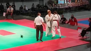 15й Чемпионат Европы, Люблин 2016 - Ксения Засорина. Бой 2