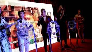 Huỳnh Lập, Hải Triều, Minh Dũng trổ tài kêu lô tô ngay tại rạp chiếu phim
