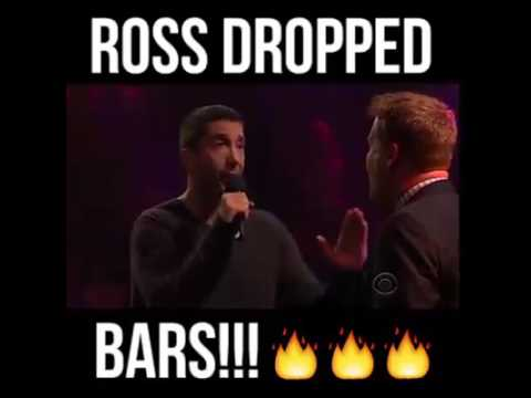 Ross from Friends Drops Mad Bars!!! Actor Rap Battle 2017