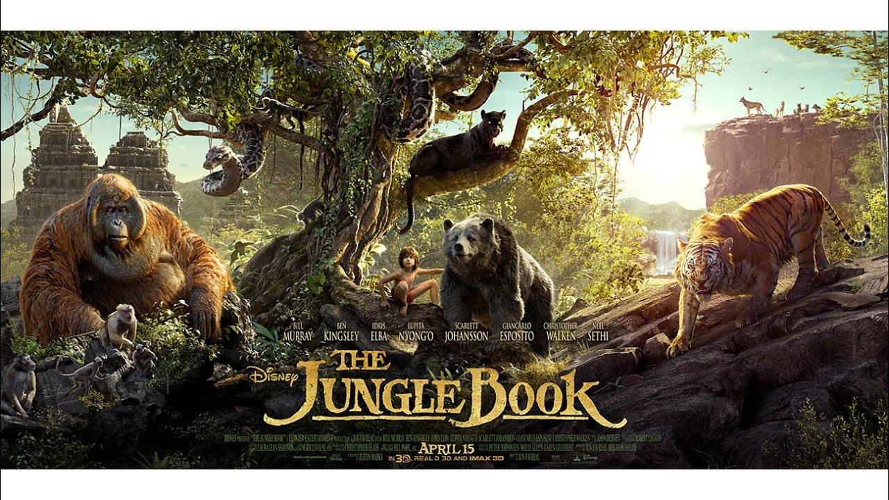 The Jungle Book 2016 Free Download BluRay