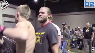 Hardrock MMA 103 Fight 9 Stone Beverly vs Brandon Wren 135 Ammy