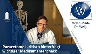Paracetamol Fehldosierungen und Nebenwirkungen: Schmerz-, Grippe-, Fiebermittel Paracetamol deutsch