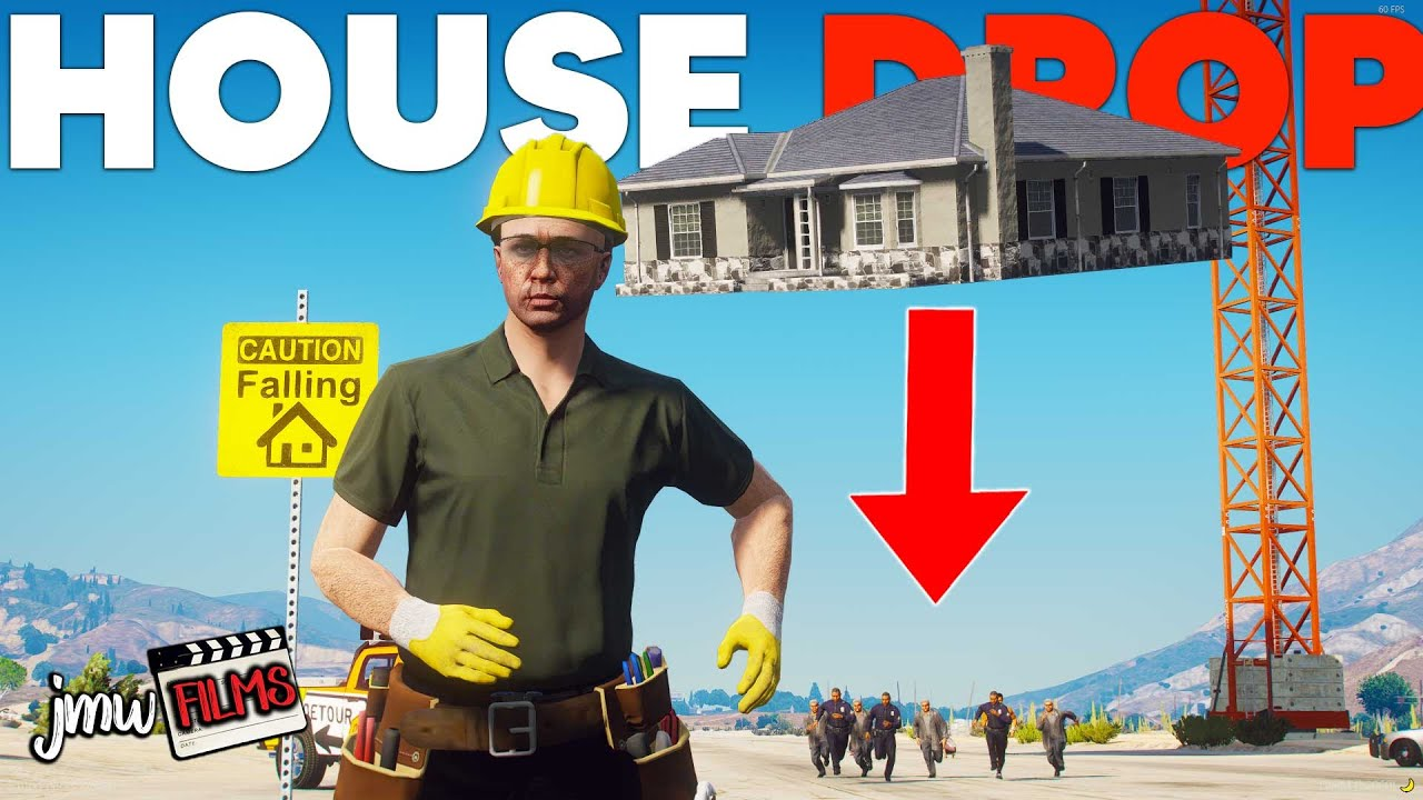 DROPPING HOUSES ON DETOURS! | PGN # 278 | GTA 5 Roleplay