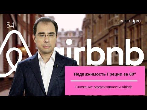 "Снижение эффективности Airbnb. Недвижимость за 60"" от 28.06."
