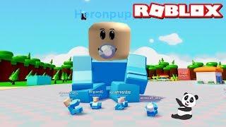 Büyük Bebek Olduk!! - Panda ile Roblox Baby Simulator