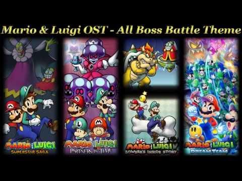 Mario & Luigi OST - All Boss Battle Theme