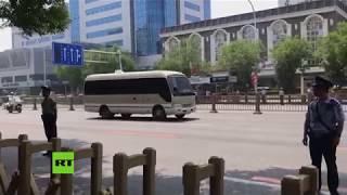 Kim Jong-un llega a Pekín para su tercera visita a China