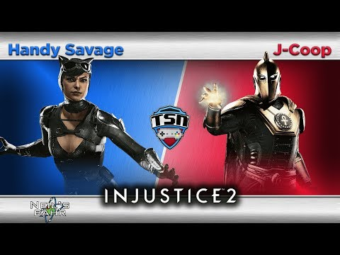 IJ2 @ Neil's (8-8) - Handy Savage (Catwoman) vs. J-Coop (Dr Fate) - Losers Finals