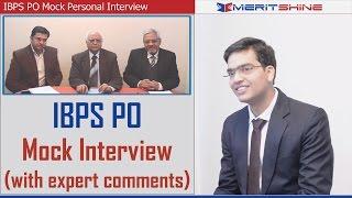 Bank Interview Preparation - IBPS Interview Mock 4