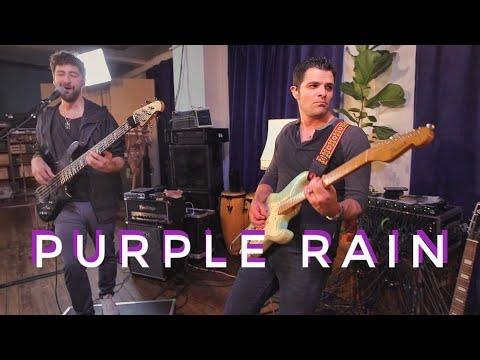Martin Miller & Mark Lettieri - Purple Rain (Prince Cover) - Live In Studio