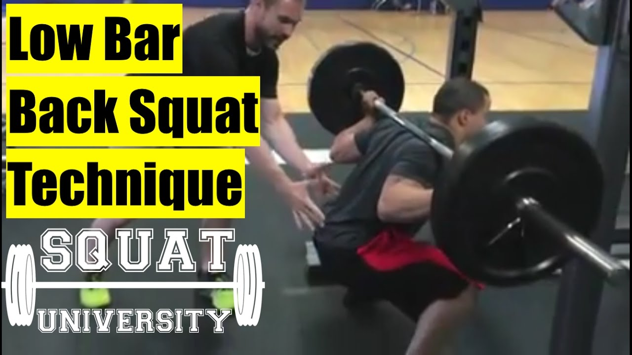 How to Perfect the Low-Bar Back Squat – Squat University