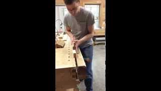 How To Cut A Reverse Ogee Moulding Plane Profile With A Mother Plane