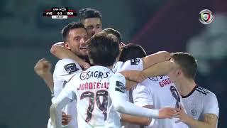 Goal   Golo Ferro: Aves 0-(3) Benfica (Liga 18/19 #22)