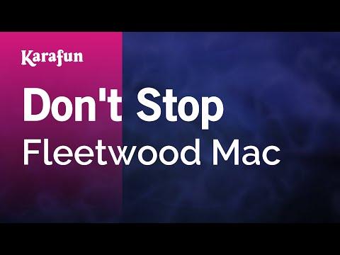 Karaoke Don't Stop - Fleetwood Mac *