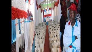 BREAKING NEWS-MAELFU WAJIANDAA KUMPOKEA PROFESA LIPUMBA KESHO ZANZIBAR/CHEKI UKUMBI ULIVYOPAMBWA