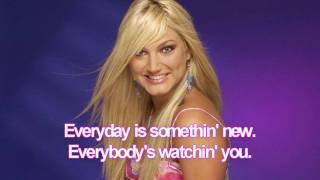 Brooke Hogan - About Us - Karaoke