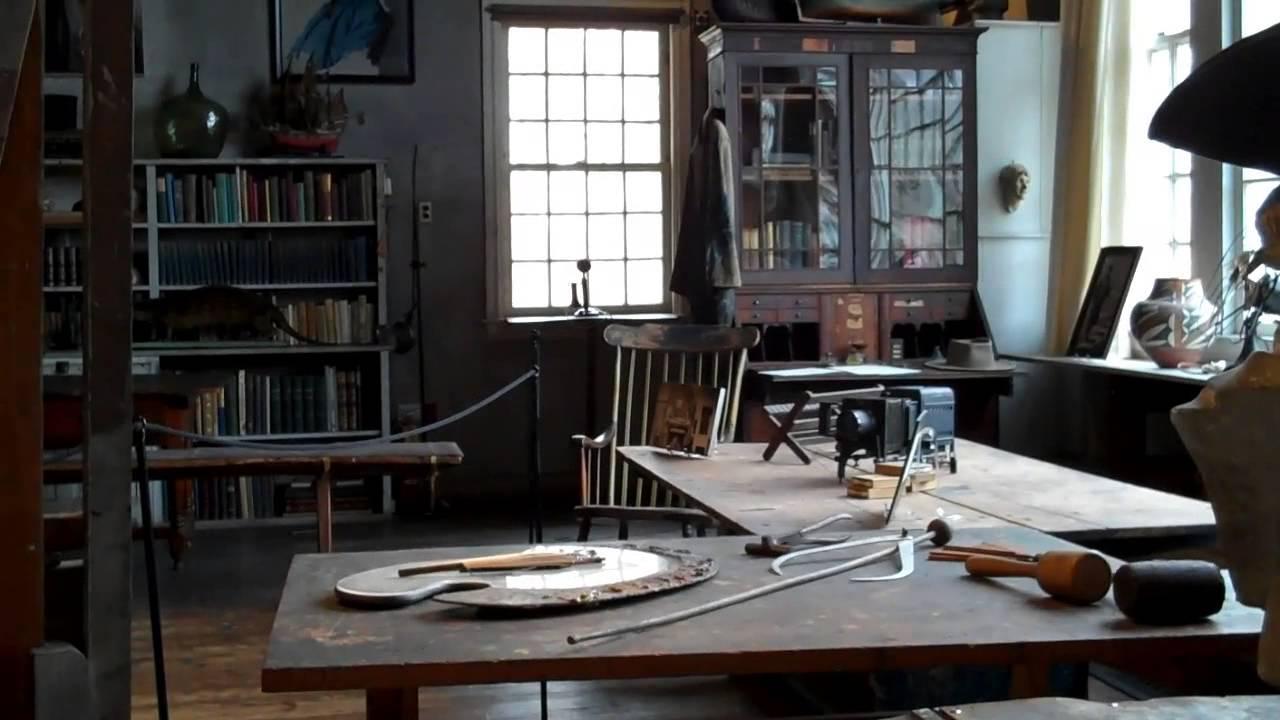 N. C. Wyeth Studio   Chadds Ford, PA   YouTube