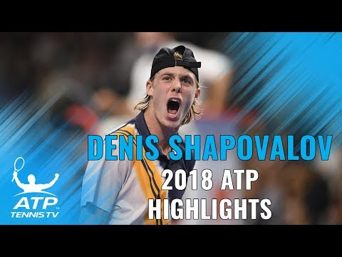 DENIS SHAPOVALOV: 2018 ATP Highlight Reel