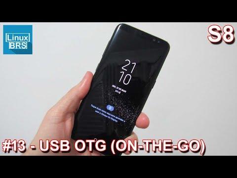 Samsung Galaxy S8 - USB TYPE-C OTG (ON-THE-GO)