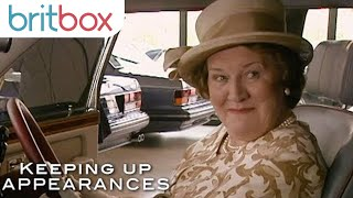 Hyacinth Can't Resist A Rolls Royce | Keeping Up Appearances