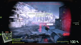 Battlefield bad company 2 Gameplay Multiplayer Online Directx 9 Test is Lagg