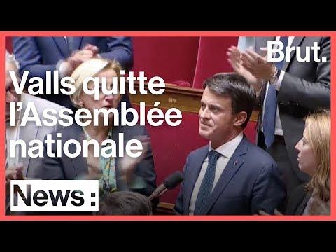 Les derniers mots de Manuel Valls à l'Assemblée nationale