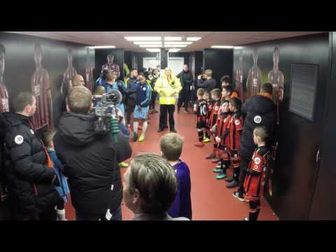 Tunnel Cam: Take a candid look inside the tunnel from AFC Bournemouth v Manchester City