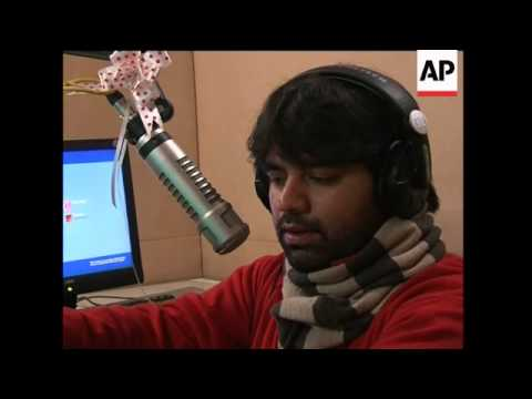 First FM radio station plays hits in Kashmir
