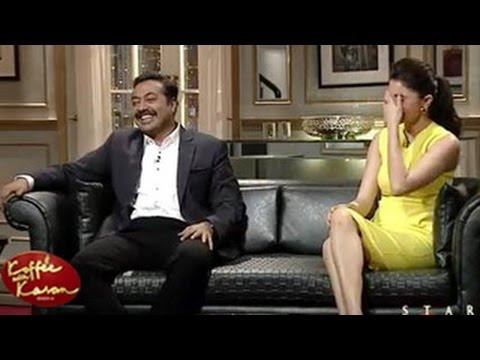 Anushka Sharma's LIP JOB DISASTER REVEALED with Anurag Koffee with Karan 9th February 2014 EPISODE