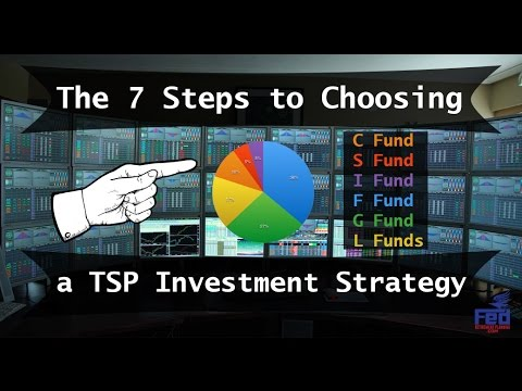 7 Steps to Choosing a TSP Investment Strategy