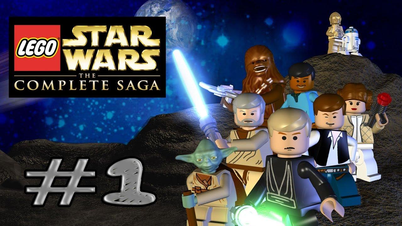 Lego Star Wars The Complete Saga Walkthrough Part 1 Ps3 ...