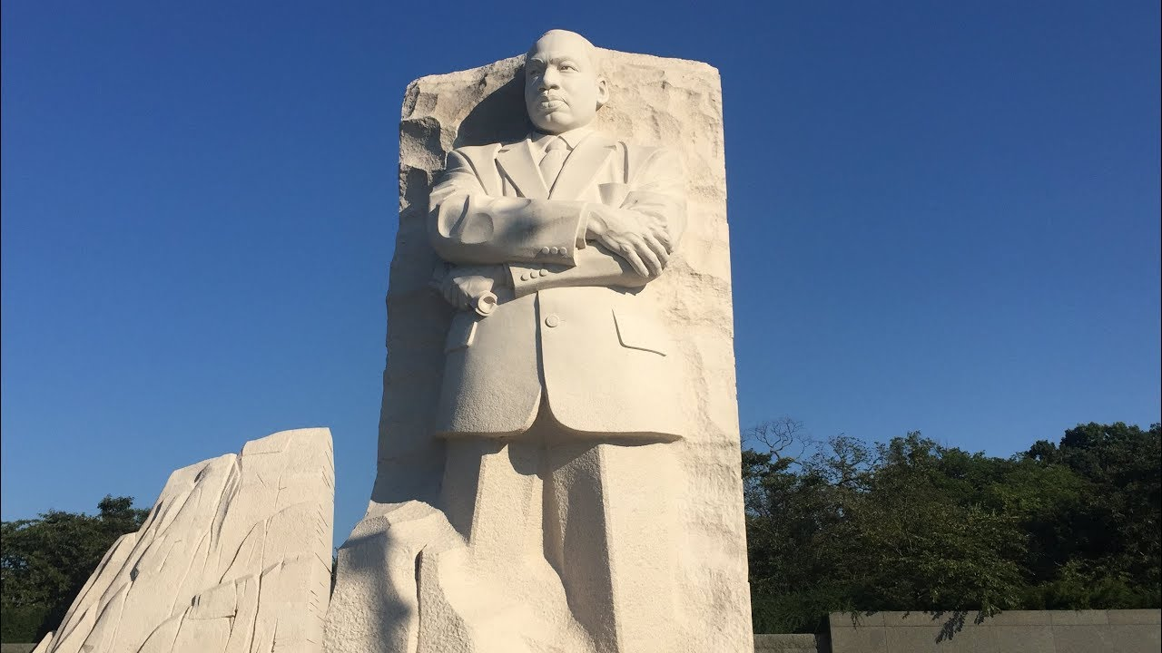 Martin Luther King Jr Memorial In Washington D C Youtube