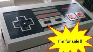 Giant Nes Controller Coffee Table - Sold!