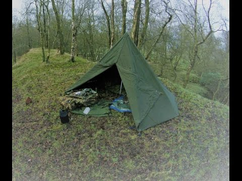 Wild Camping  Winter Solstice 2016 - Middle aged nutters