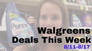 Top Deals at Walgreens 8/11-8/17